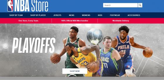 NBA store Click Frenzy Sports deals