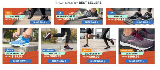 The Athlete's Foot Click Frenzy Deals