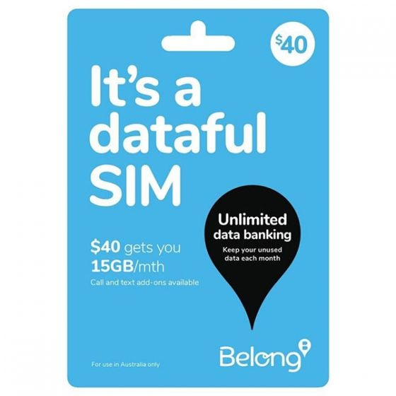 Belong SIM card