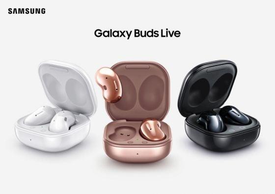 Three Galaxy Buds Live