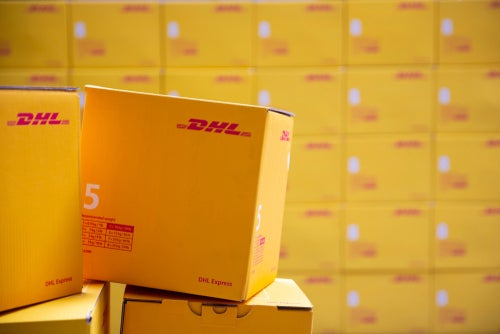 DHL Express courier service