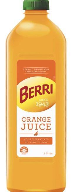 Berri orange juice