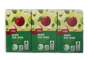 Coles juice