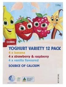 Best Coles yoghurt