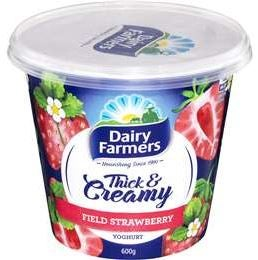 Best Dairy Farmers yoghurt strawberry field