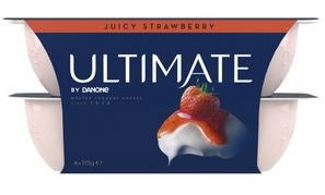 Best Danome yoghurt juicy strawberry