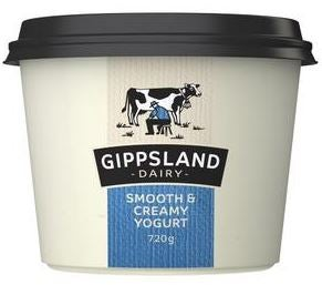 Best Gippsland yoghurt smooth & creamy