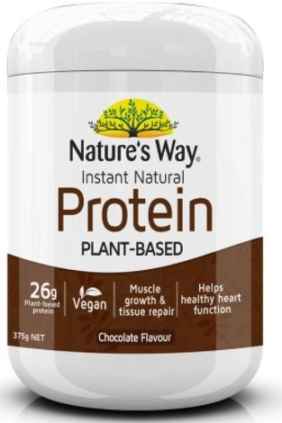Nature's Way choc plant protein