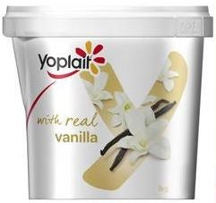 Best Yoplait yoghurt with vanilla