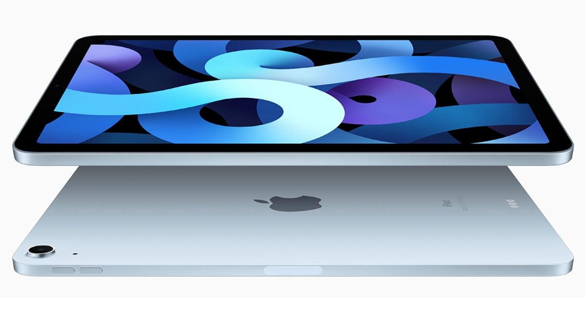 iPad Air in silver