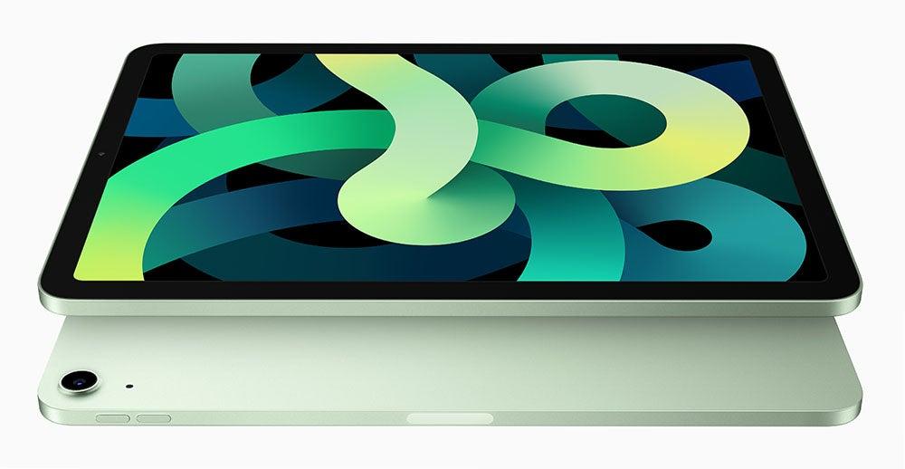 iPad Air in green