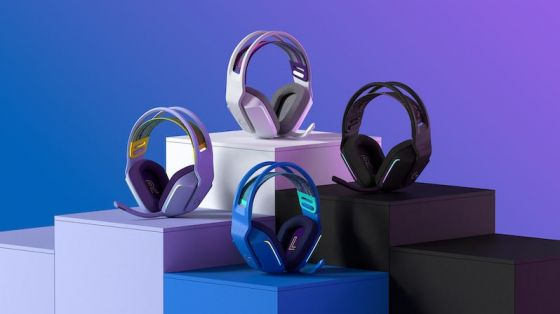Four gaming headsets