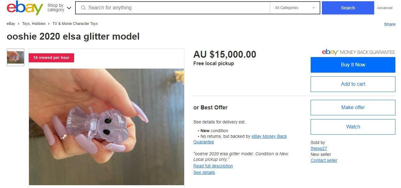 Disney+ Ooshies eBay