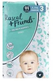 Rascal + Friends nappies