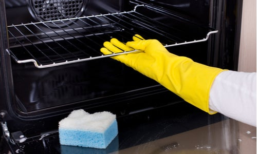 Pull oven apart to clean