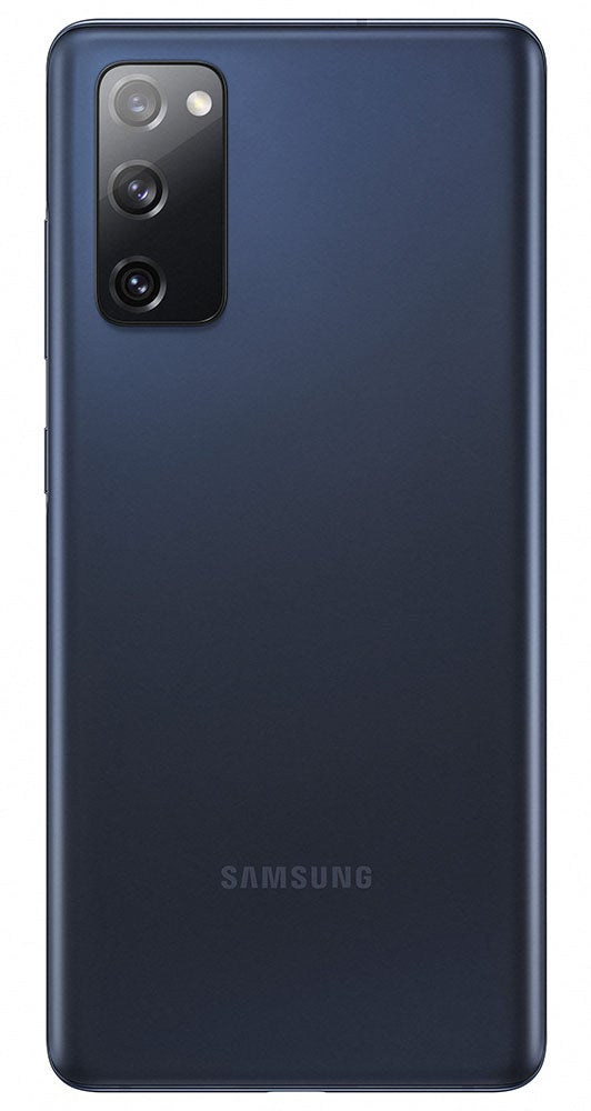 Samsung Galaxy S20 FE in navy blue