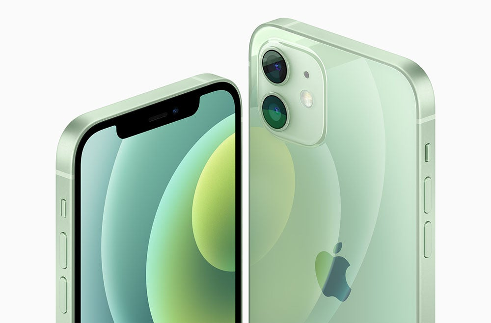 iPhone 12 in green