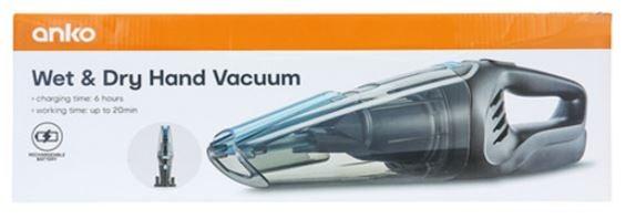 Wet & Dry Hand Vacuum