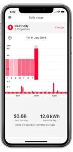 Kogan Energy usage monitoring app