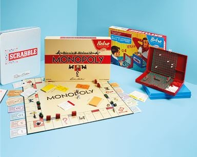 ALDI monopoly and battleship game