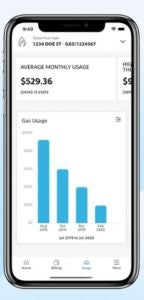 Simply energy usage monitoring app