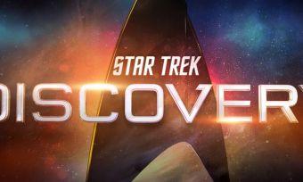 Logo of Star Trek Discovery series
