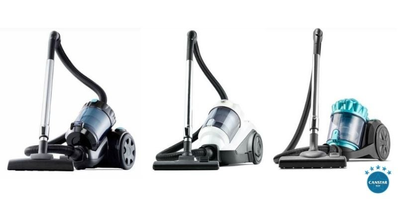 Kmart bagless vacuum range