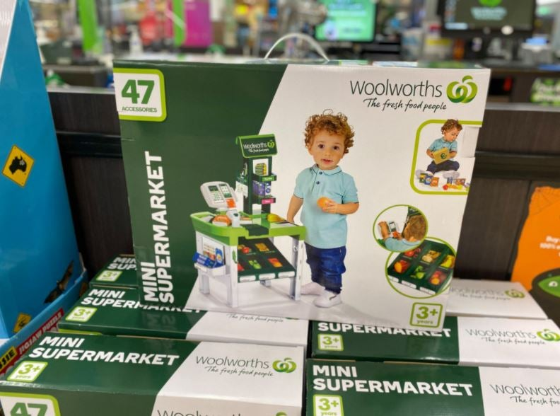 Woolworths mini supermarket toy