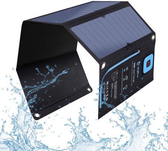 A solar charger for your phone