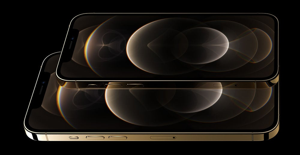 iPhone 12 Pro and Pro Max in Gold