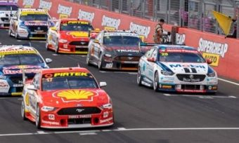 Several Supercars ready to race