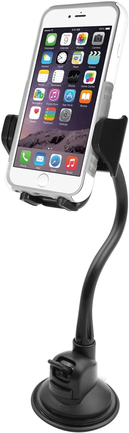 A suction cup phone mount for your smartphone for when you drive