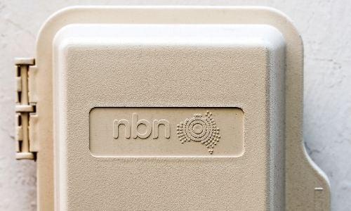 An NBN Co box servicing a property