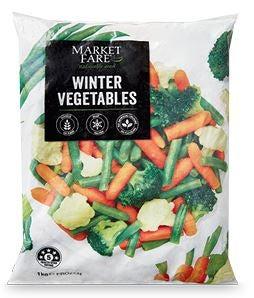 ALDI Market Fare frozen vegetables review
