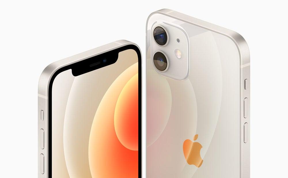 iPhone 12 Mini in white