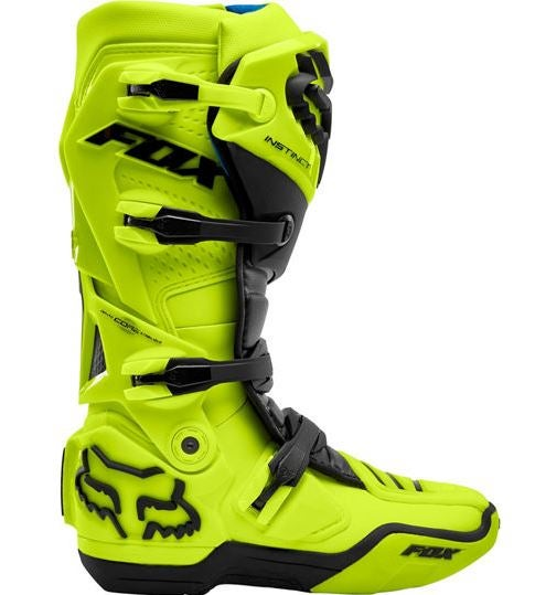 Fox motorcycle boots review Instinct line