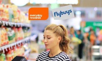 woman shopping flybuys rewards