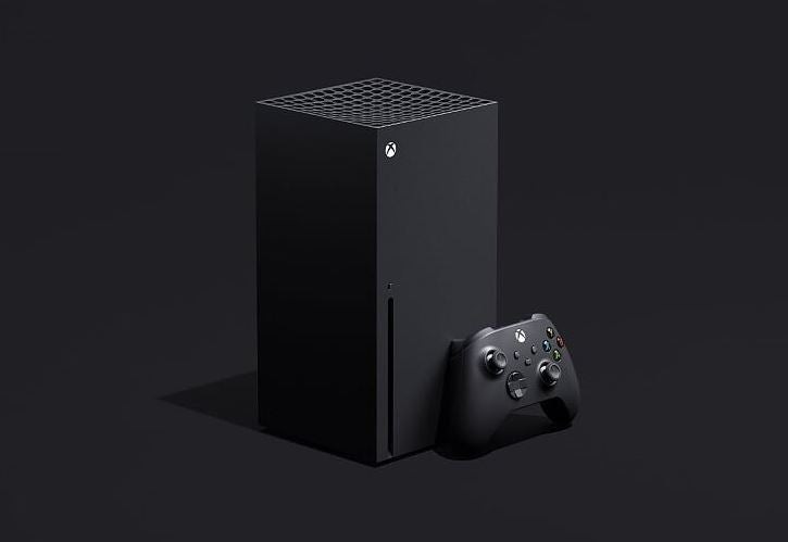 Xbox Series X with controller