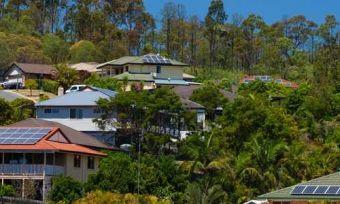 rooftops with solar queensland