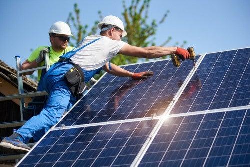 installing solar roof