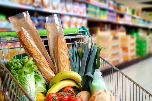 Average grocery bill per state Australia
