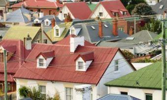 hobart rooftops powerlines