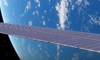 A Starlink satellite