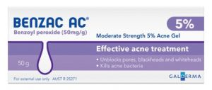 Benzac acne skin care review