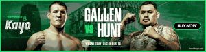 Gallen Vs. Hunt Banner