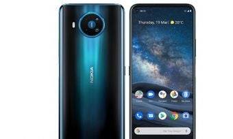 Front and back of Nokia 8.3 5G phone