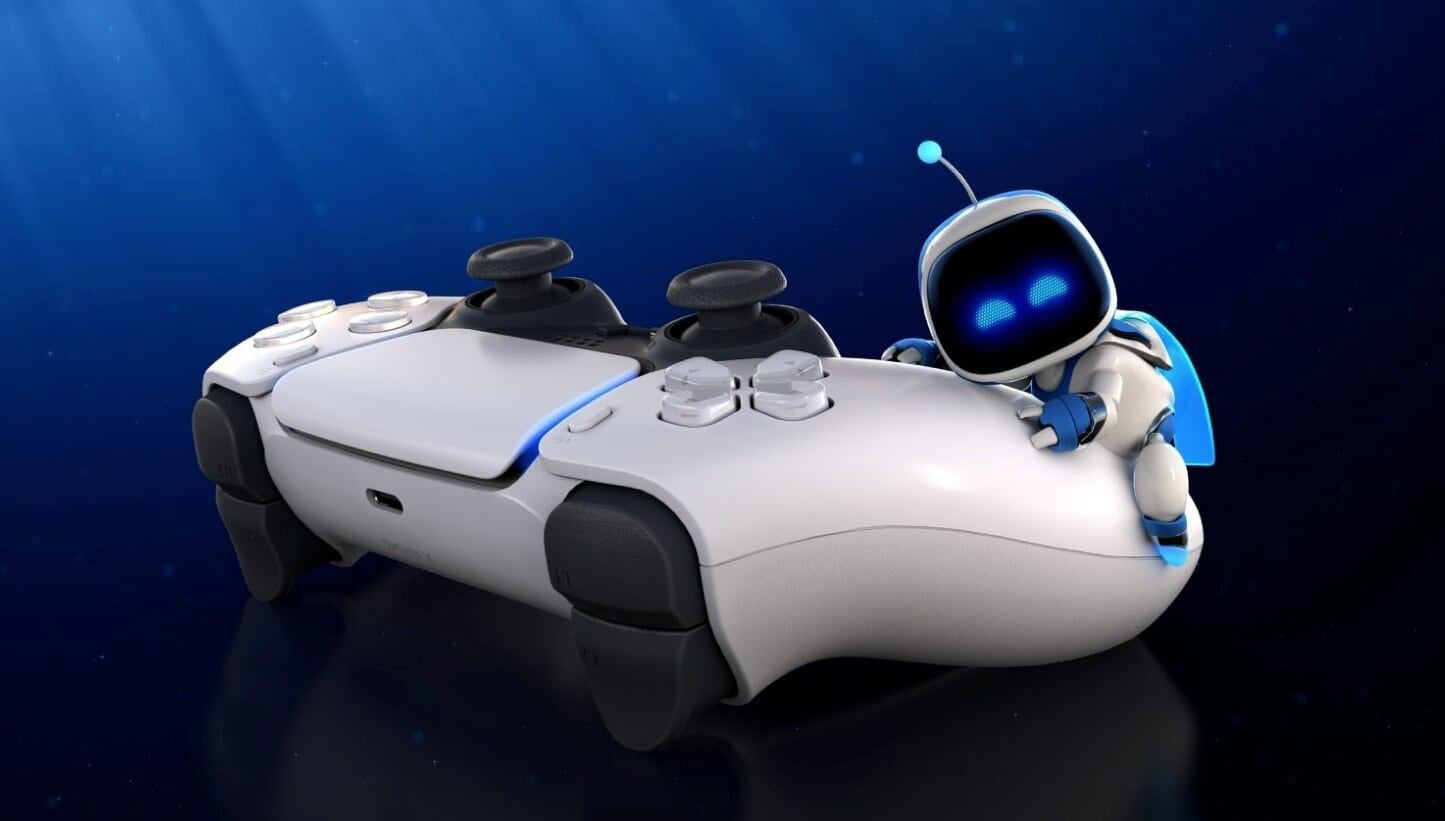Playstation 5 close up of controller
