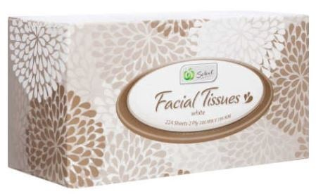 Woolworths Select tissues