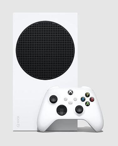 Xbox Series S upright
