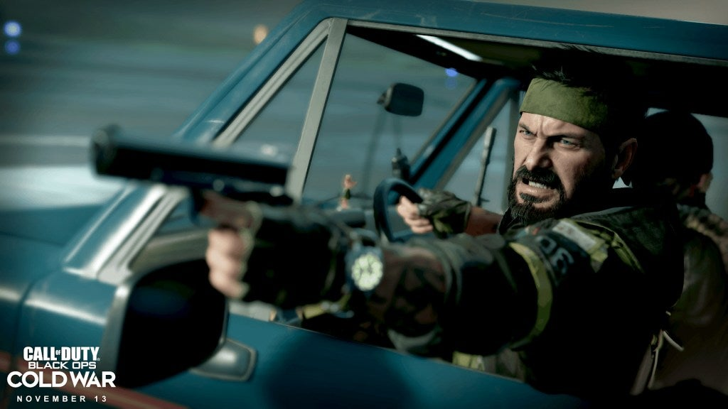 Scene from Call of Duty Black Ops Cold War